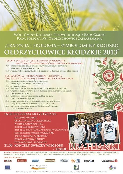 Dożynki gminne 2013
