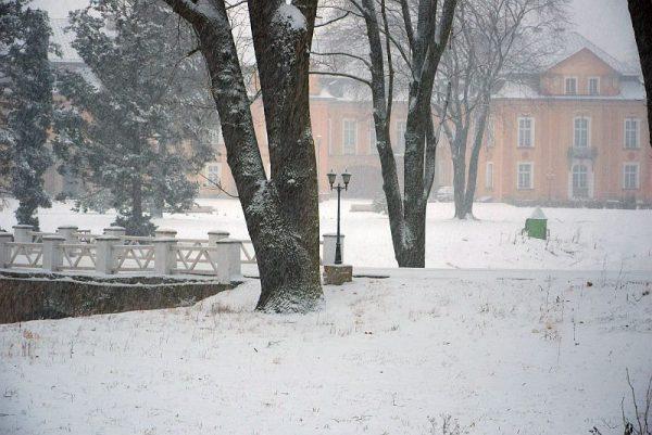 Żelazno zima